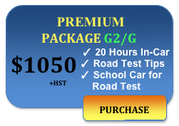1050 driving lessons premium package