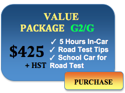 425 value package in car lessons
