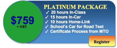 759 driving course platinium package