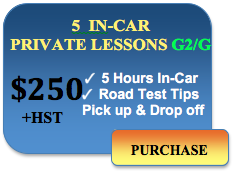 driving school toronto 5 driving lessons 250