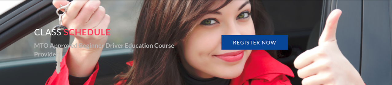 driving course class schedule toronto etobicoke