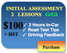 100 initial assessment 2 in car lessons