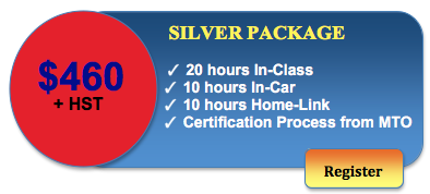 460 driving course silver package