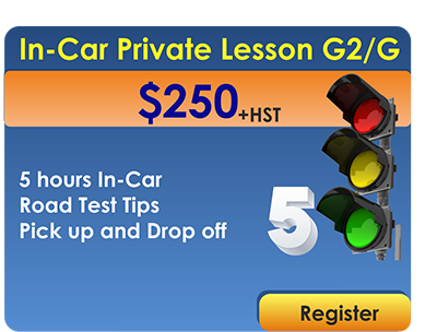 5  In Car Lessons