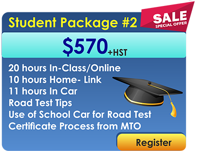 Student Package #2 Online Driving Course